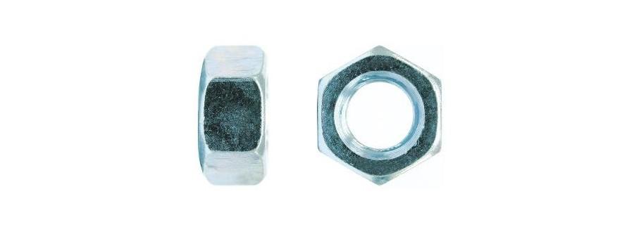 PORCA SEXTAVADA DIN 934 M-16 A M-24 INOX A2 (CAIXA DE 100)